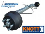 Knott Anhängerachse VGB15-MV,1500kg, Auflage=1000mm, 112x5