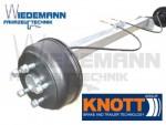 Knott Anhängerachse VGB10-M 1050 kg Radanschluß=112x5 b=1000mm