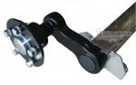Knott Anhängerachse UNGEBREMST VG13, 1350 kg, Auflage=1000 mm RA= 112x5